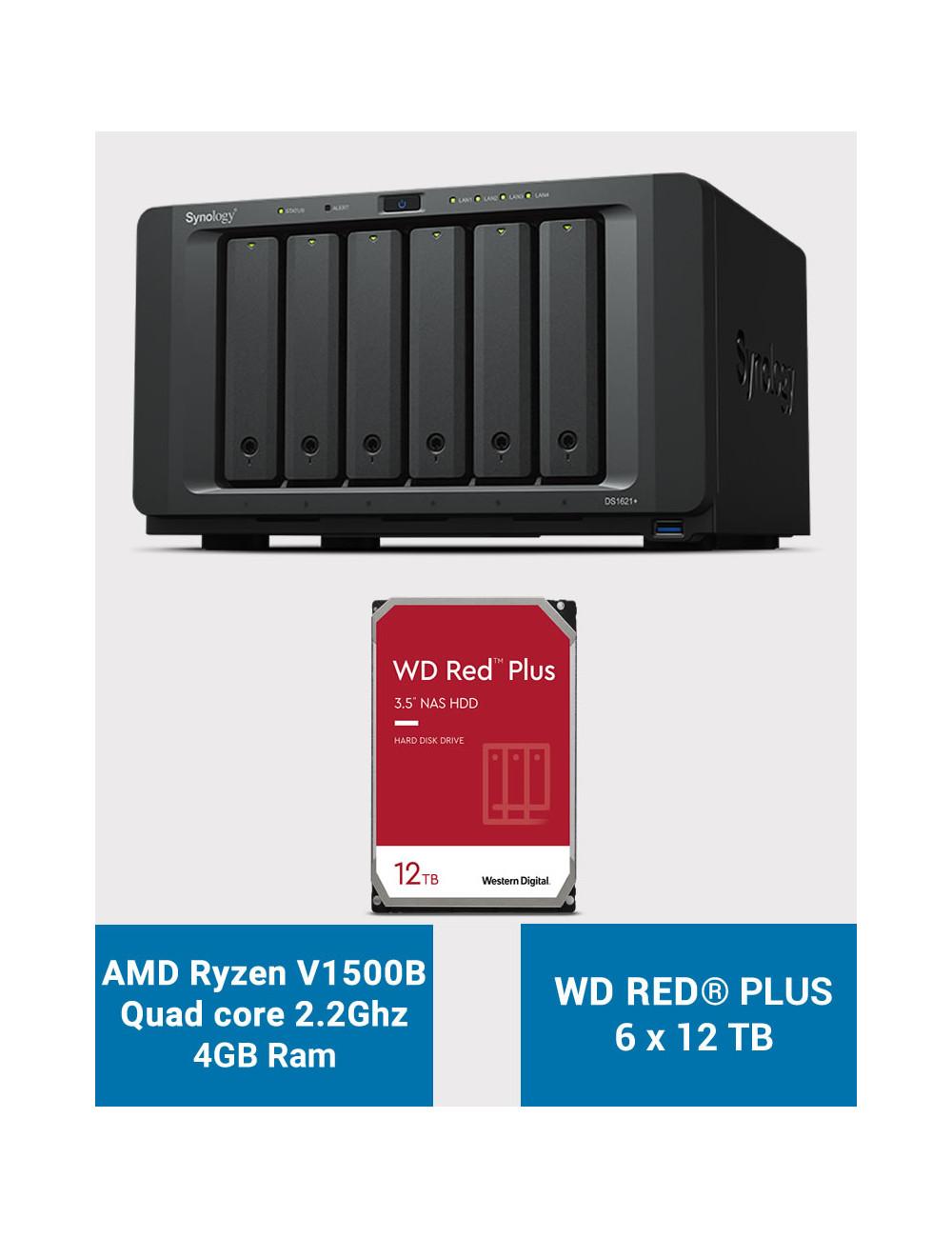Synology DS218+ NAS Server EXOS ENTERPRISE 8TB (2x4TB)