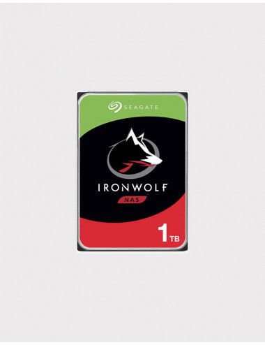 Seagate IRONWOLF Disque SATA 1To