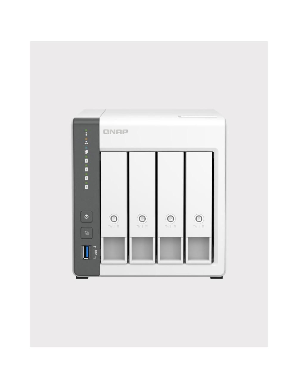 Synology DS418 NAS Server IRONWOLF 4TB (4x1TB)