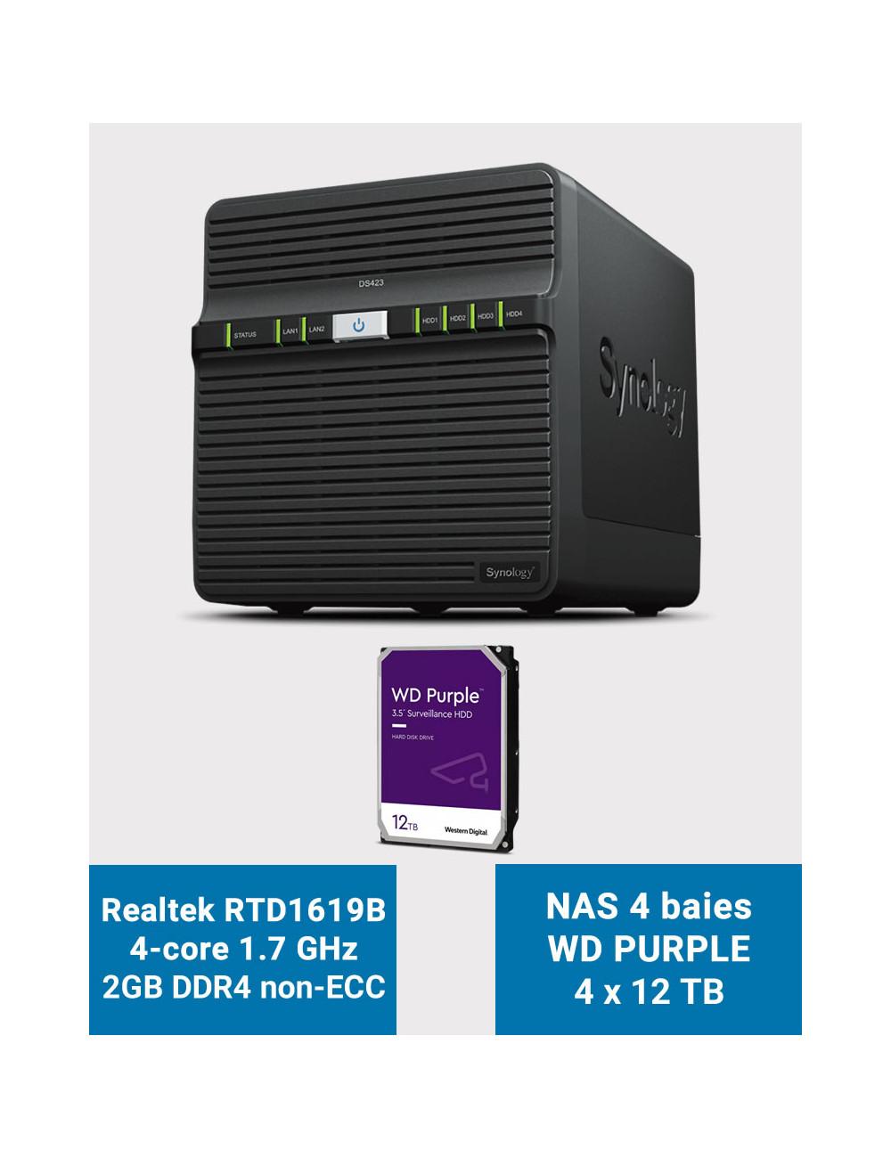 Firewall E-WALL Q3I340 sous pfSense® CE 4 ports 4Go SSD 16Go