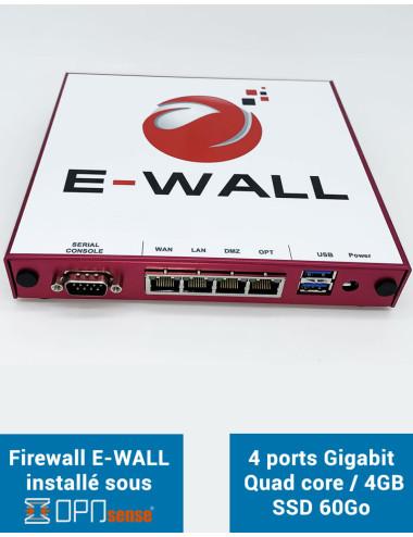 E-WALL SYNOLOGY Serveur NAS - Sauvegarde 300 Go - 1 an