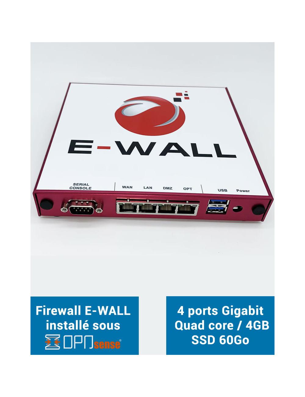 E-WALL SYNOLOGY Server NAS - Backup 300 GB - 1 year