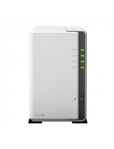 Synology DS218j Servidor NAS - WDRED (2x1TB) - 2 TB