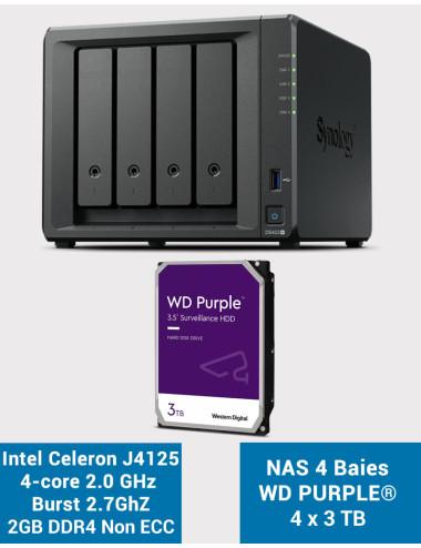 Synology DS418 Serveur NAS (Sans disque)