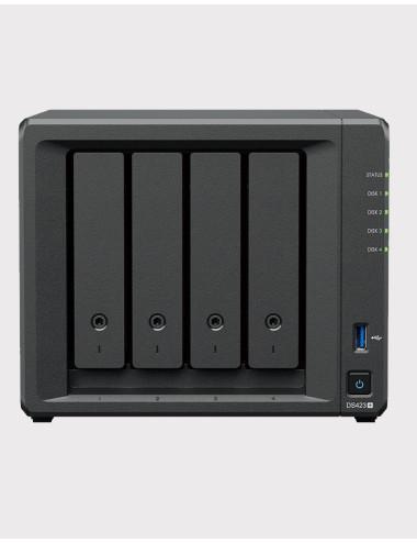 Synology DS418 NAS Server - SATA 6Gb / s - 12 TB