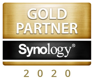 GOLD PARTNER SYNOLOGY 2020