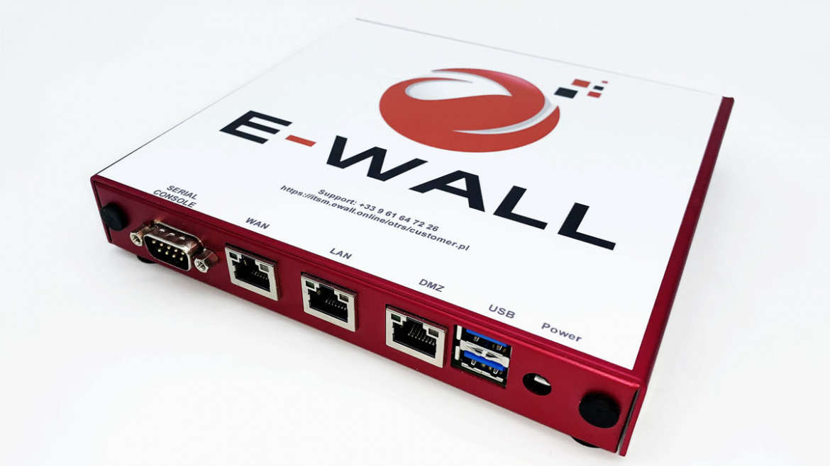 Getting started with E-WALL APx Firewall