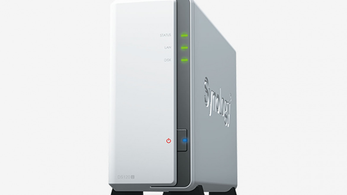 New NAS SYNOLOGY DS120J, compact and economical